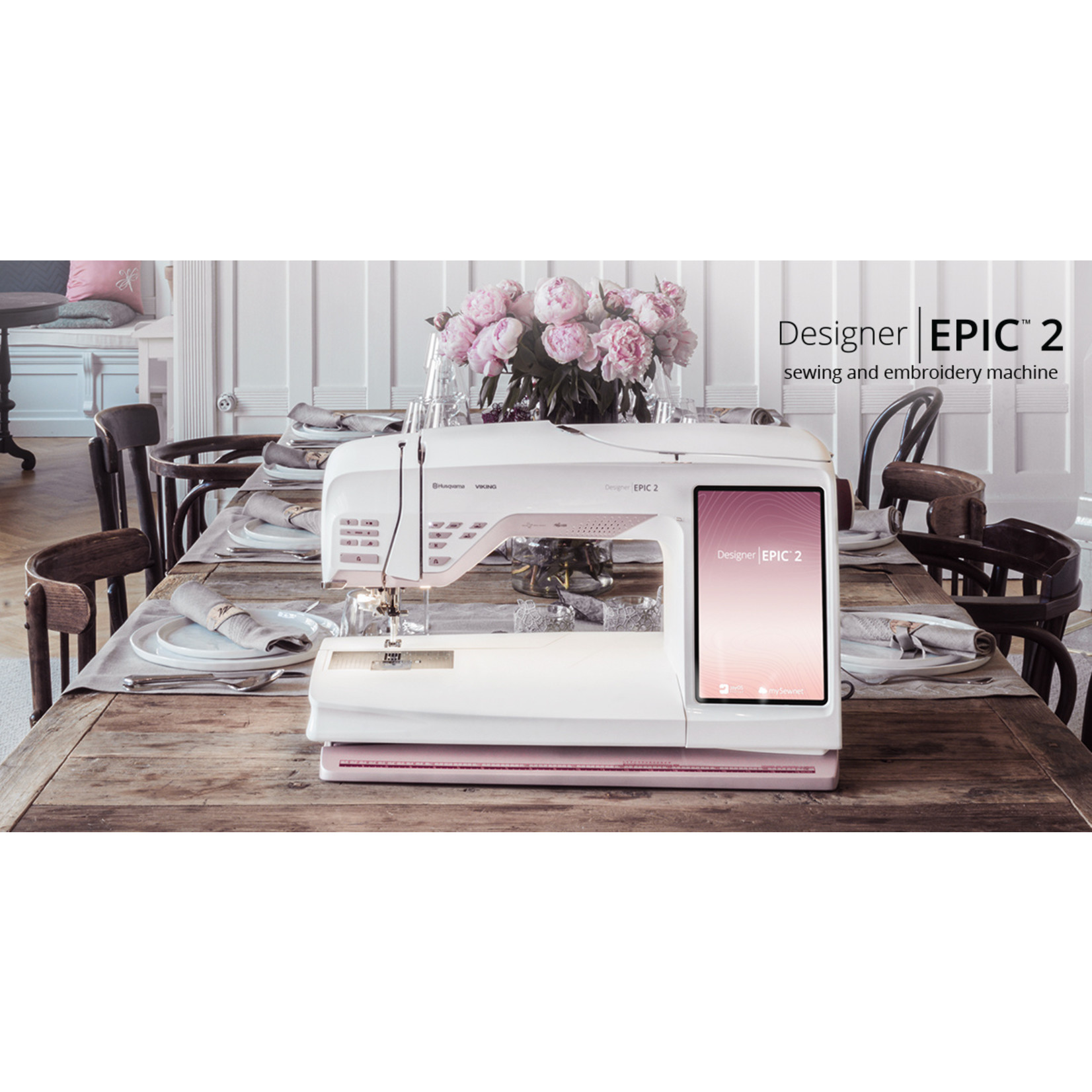 HUSQVARNA VIKING DESIGNER EPIC™ 2