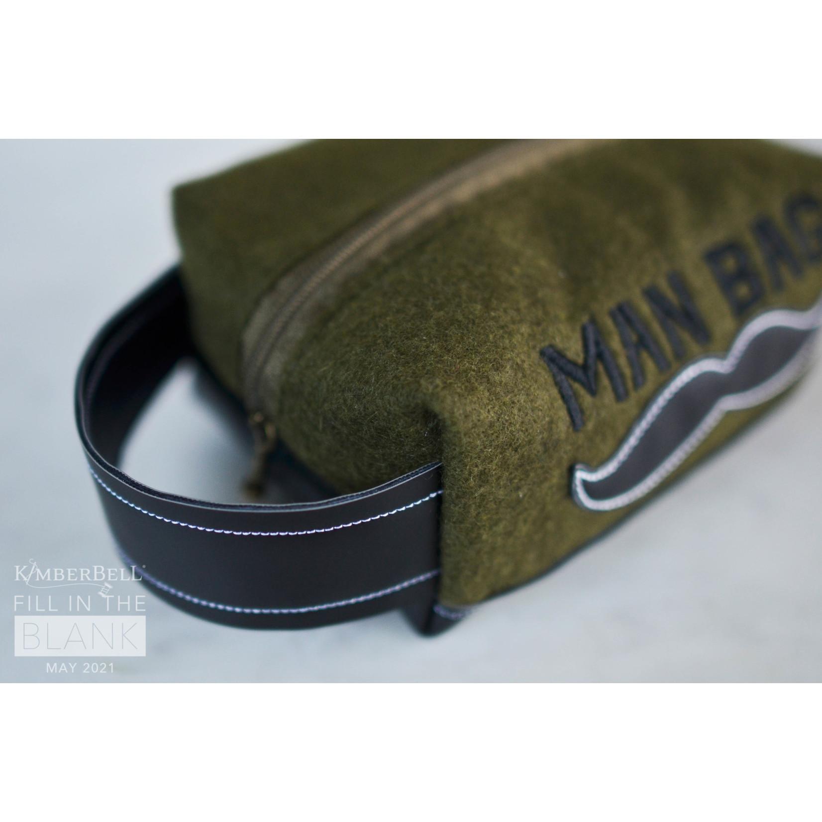 Kimberbell Designs Fill in the Blank - Man Bag Kit