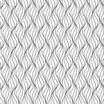Andover Century Black on White, Waves CS-9672-L $0.18 per cm or $18/m