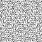 Andover Century Black on White, Circles CS-9676-L $0.18 per cm or $18/m