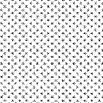 Andover Century Black on White, Big Asterisks CS-9684-L $0.18 per cm or $18/m