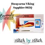 Husqvarna Viking Sapphire 965Q - Previously owned