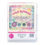 Tula Pink PRE-ORDER Tula Sunrise 11 piece Acrylic Template Set