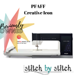 Pfaff Creative Icon - Previously Owned