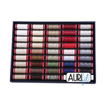 AURIFIL The Best Selection 12 Weight - 45 Small Spool Collection