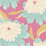 Tilda Gardenlife, Bowl Peony, Pink 100301 $0.20 per cm or $20/m