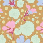 Tilda Gardenlife, Nasturtium, Mustard 100304 $0.20 per cm or $20/m