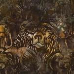 Robert Kaufman Wildlife Sanctuary 3 Batik, Bears AMD-15553-169 $0.24 per cm or $24/m