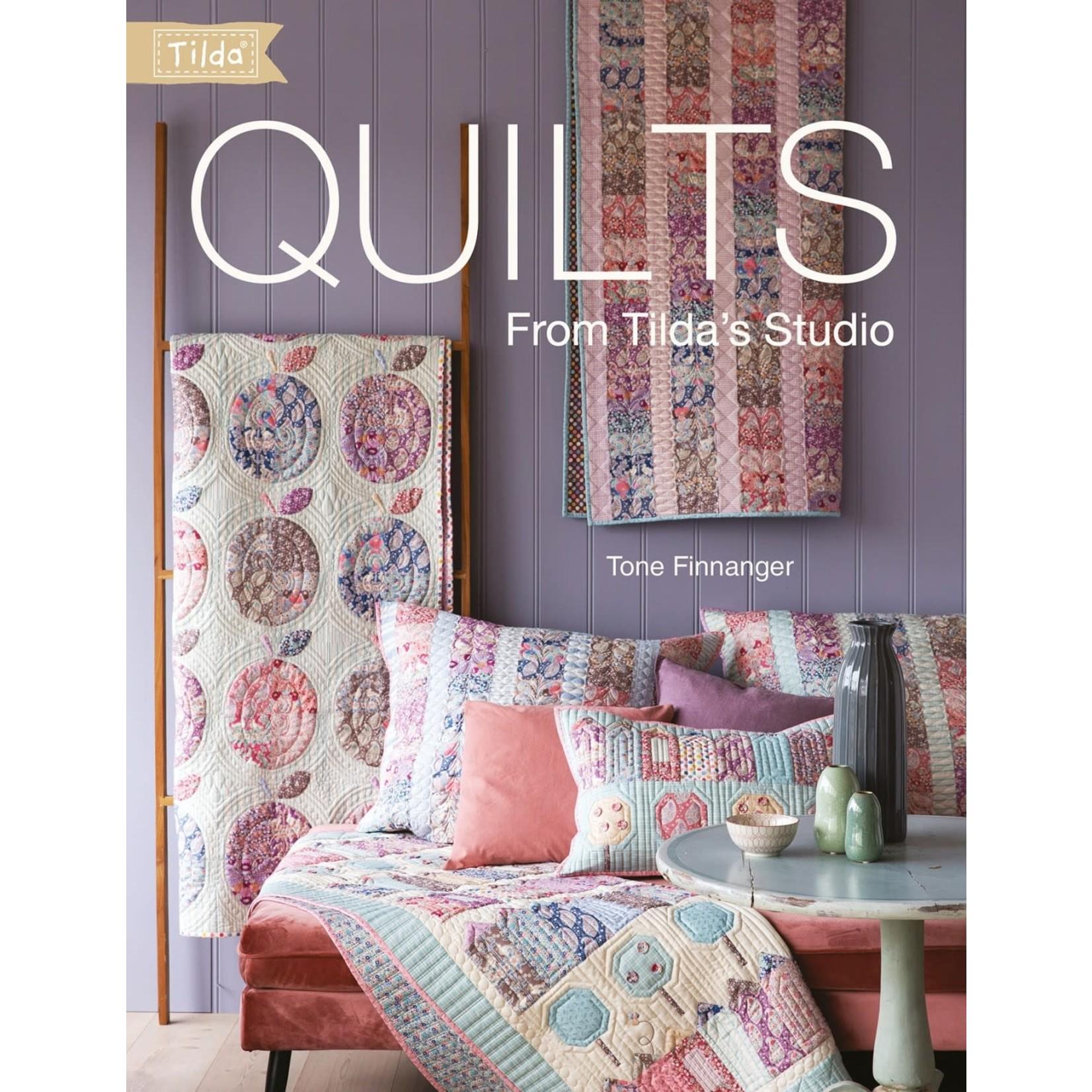 Tilda Quilts from Tilda's Studio
