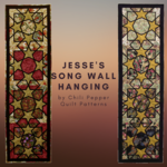 Chili Pepper Quilt Patterns Jesse's Song Wall Hanging Pattern