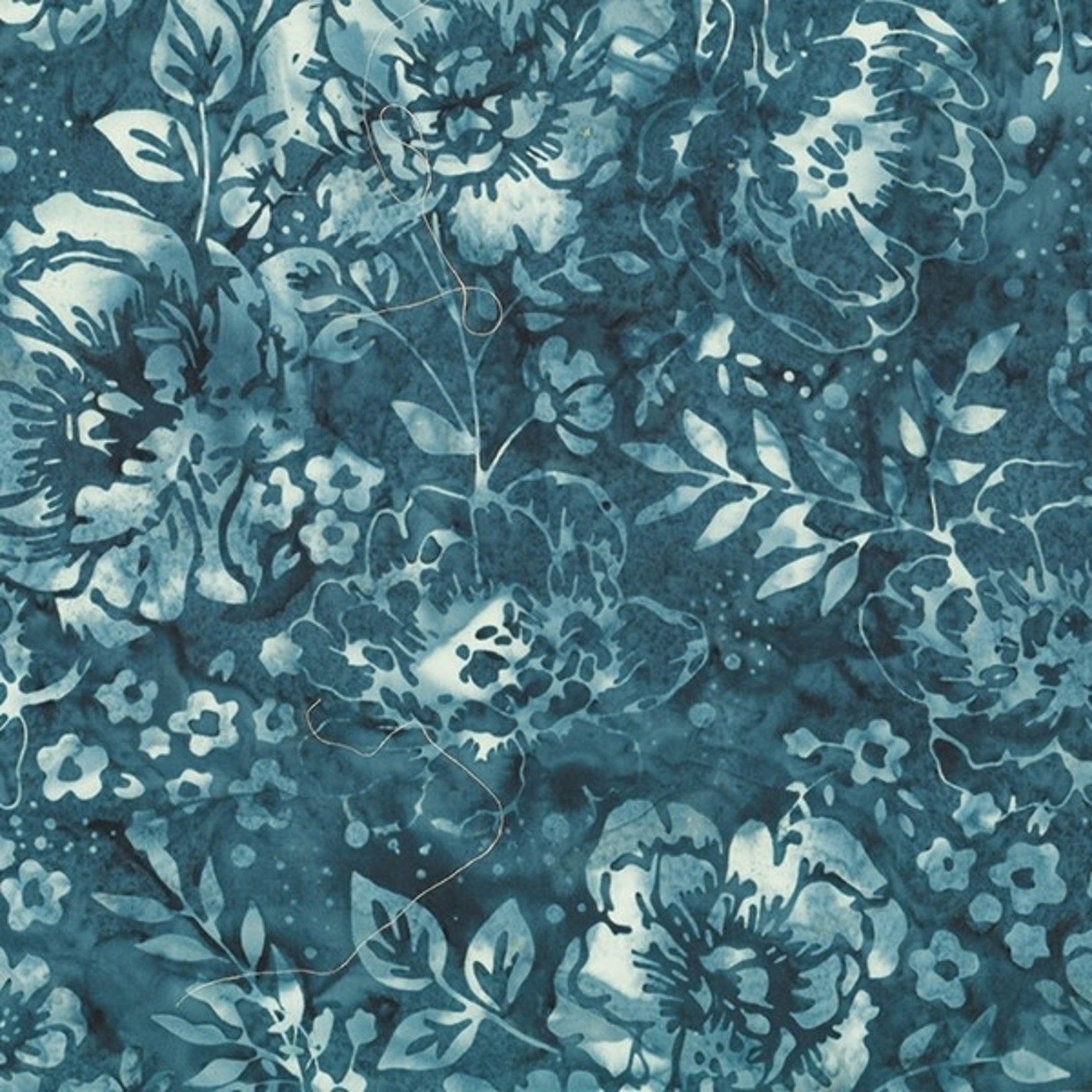 Hoffman Bali Batiks, London Floral 2363-242 $0.20 per cm or $20/m