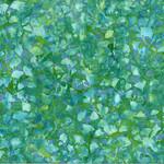 Hoffman Bali Batiks, Leaves, Seaholly 2376-226 $0.20 per cm or $20/m