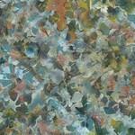 Hoffman Bali Batiks, Leaves, River Rock 2376-611 $0.20 per cm or $20/m