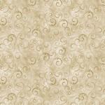 "Benartex Swirling Splendor Tan 108"" Wide $0.32 per cm or $32/m"