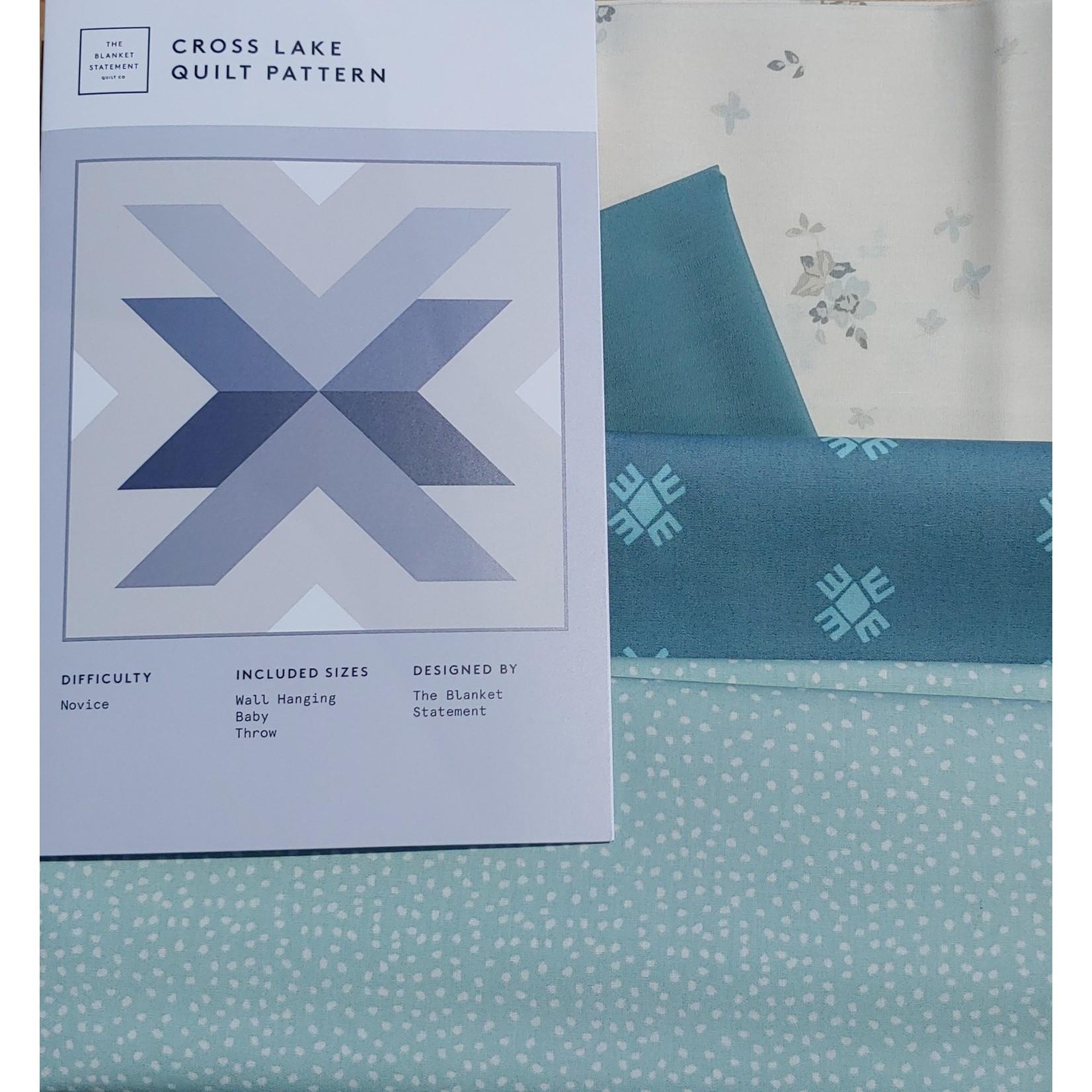 Art Gallery Cross Lake Quilt Kit (Throw Size)