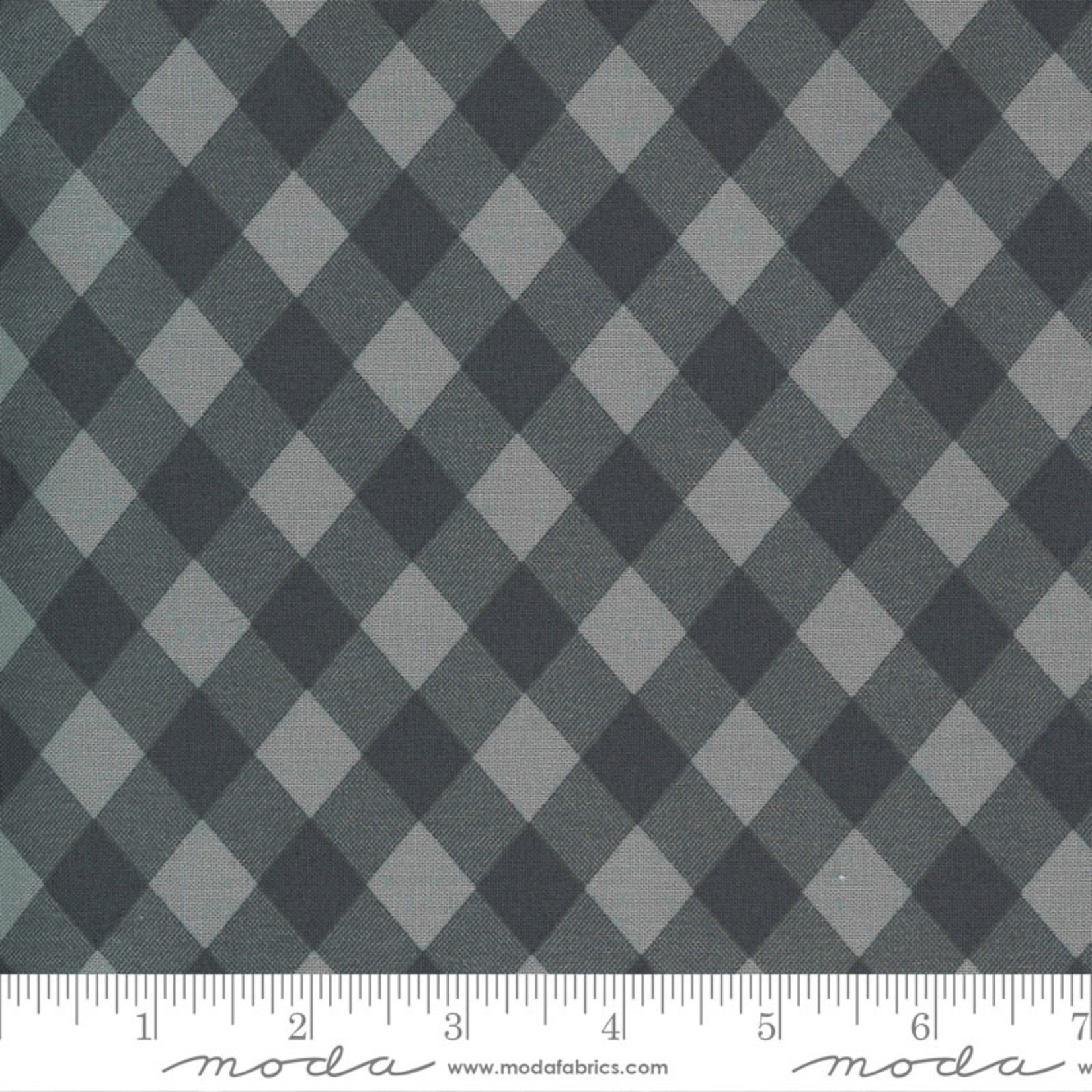 Bonnie & Camille Sunday Stroll, Picnic Gingham, Grey 55227 17 $0.20 per cm or $20/m
