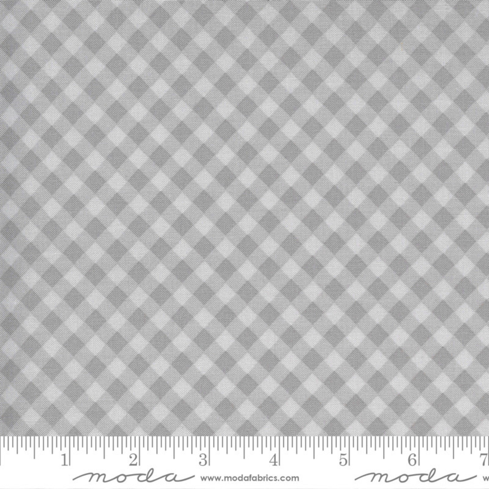 Sweetwater Spring Chicken, Gingham, Grey 55523-16 $0.20 per cm or $20/m