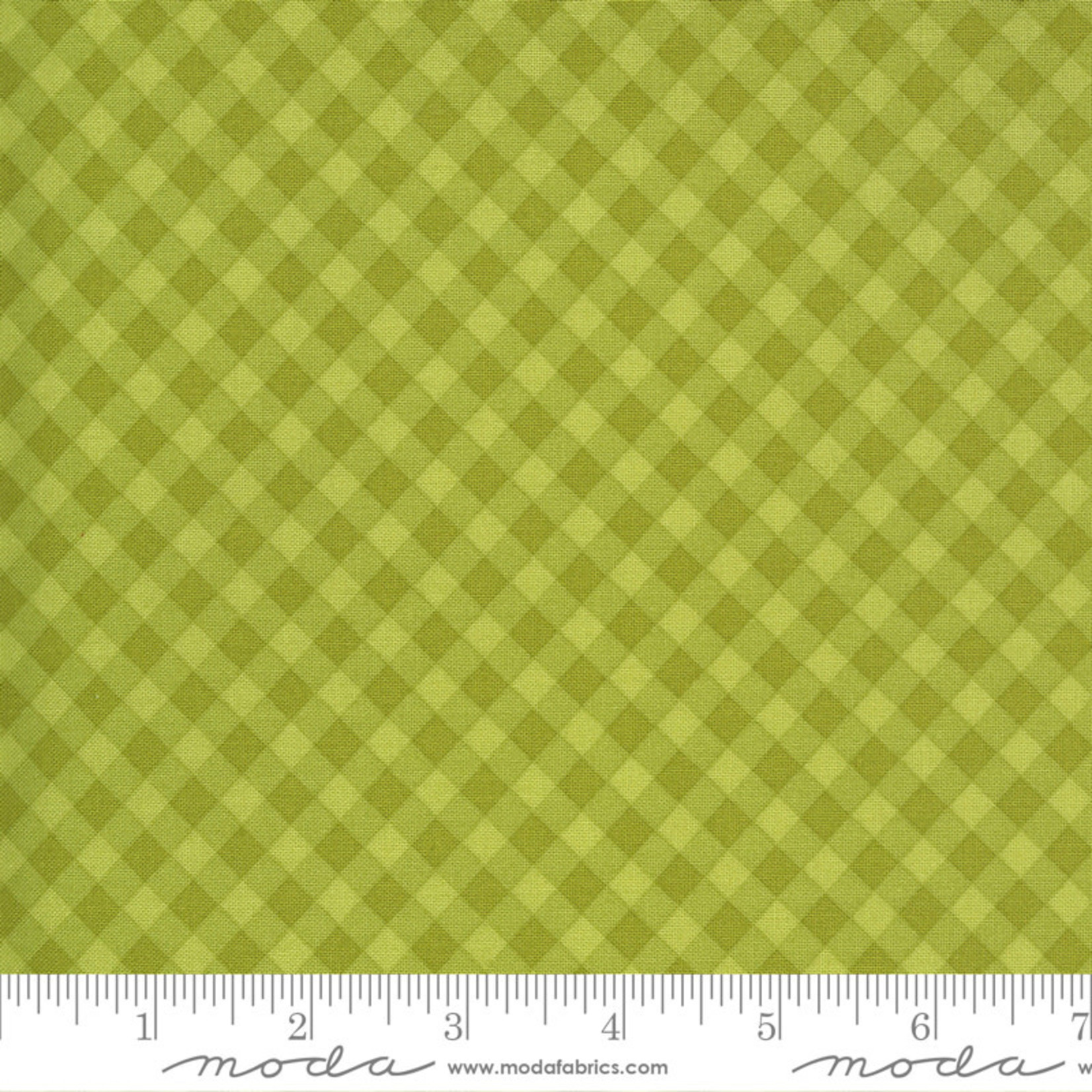 Sweetwater Spring Chicken, Gingham, Green 55523-13 $0.20 per cm or $20/m
