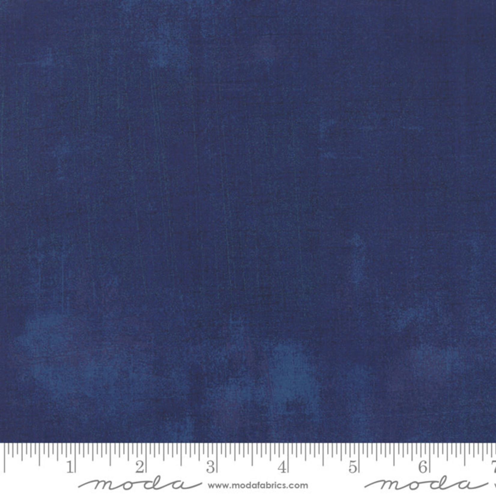 Moda Grunge Basics Grunge - Navy per cm or $20/m