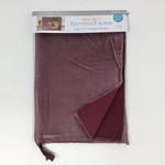 Kimberbell Designs Amethyst Velvetten Zipper Pouch Blank, Large