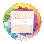 "Tula Pink Tula's True Colors - 10"" Charm Pack (42 pcs)"