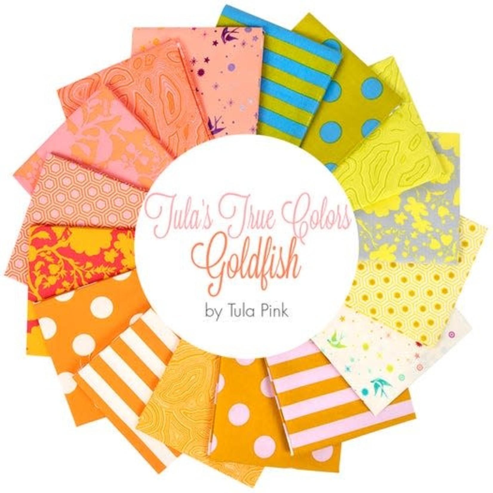 Tula Pink True Colors Fat Quarter Collection - Goldfish