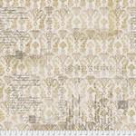 Tim Holtz Upholsterers - Gold, per cm or $16/m