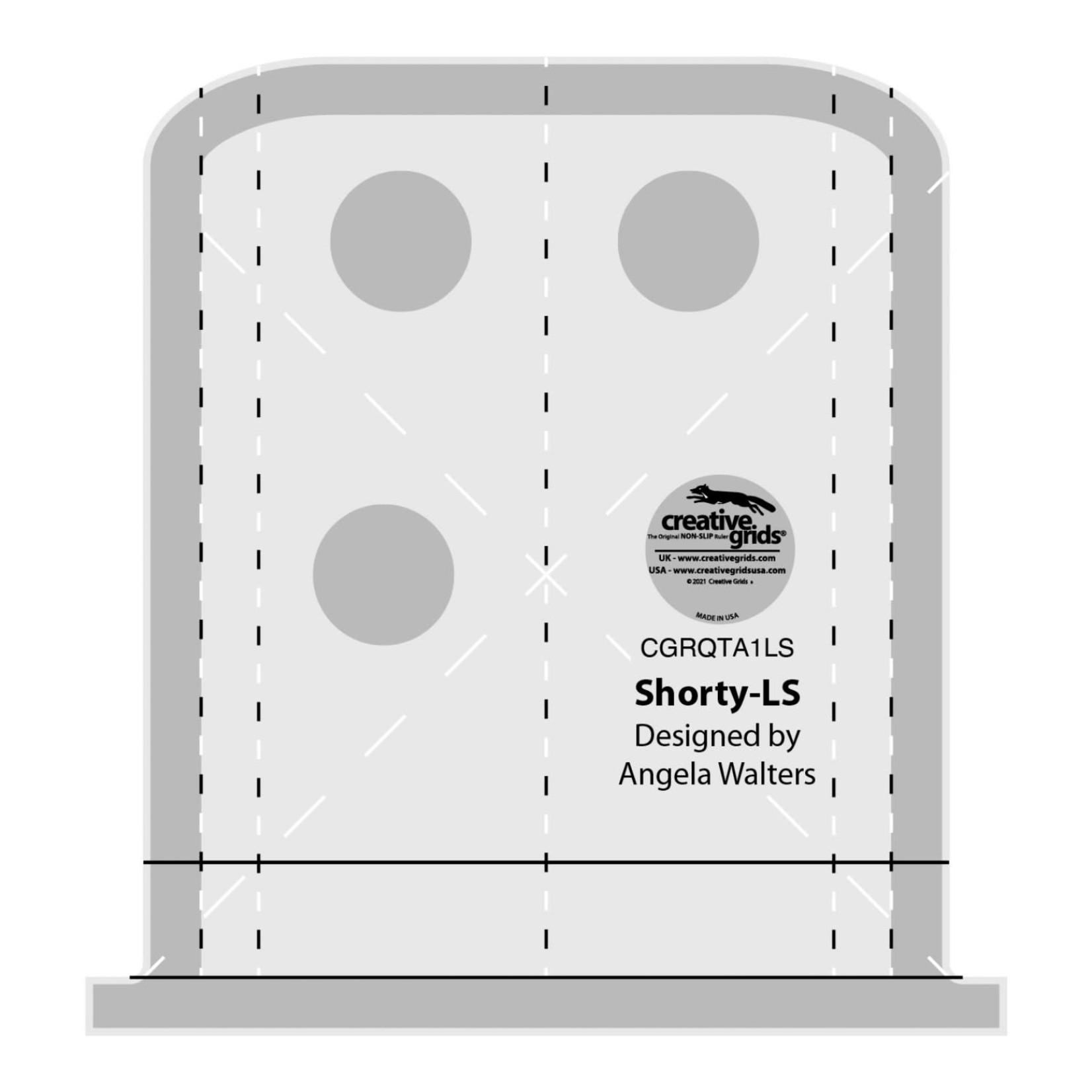 Creative Grids Creative Grids Shorty Low Shank Ruler CGRQTA1LS
