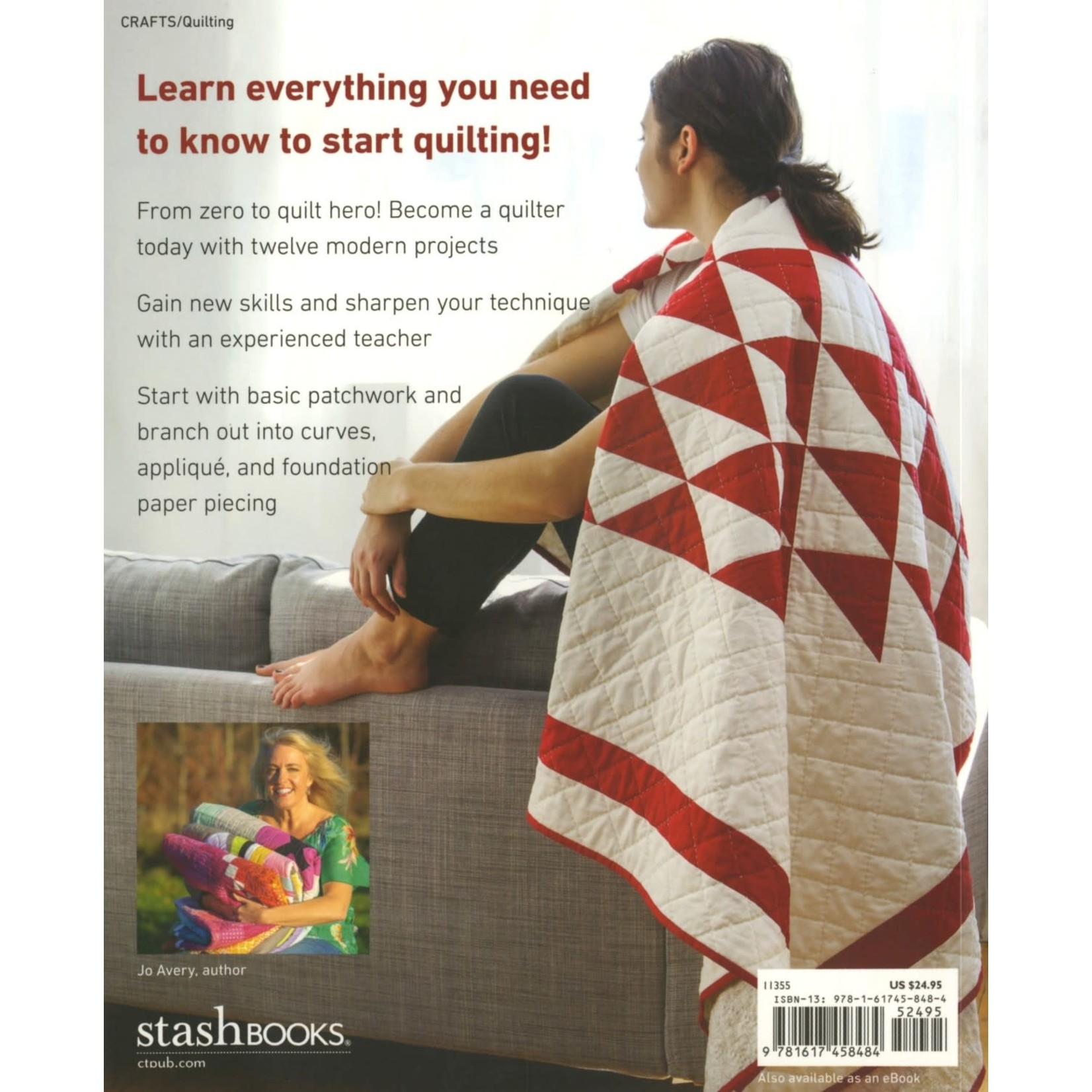 Stash Books Patchwork & Quilting basics by Jo Avery