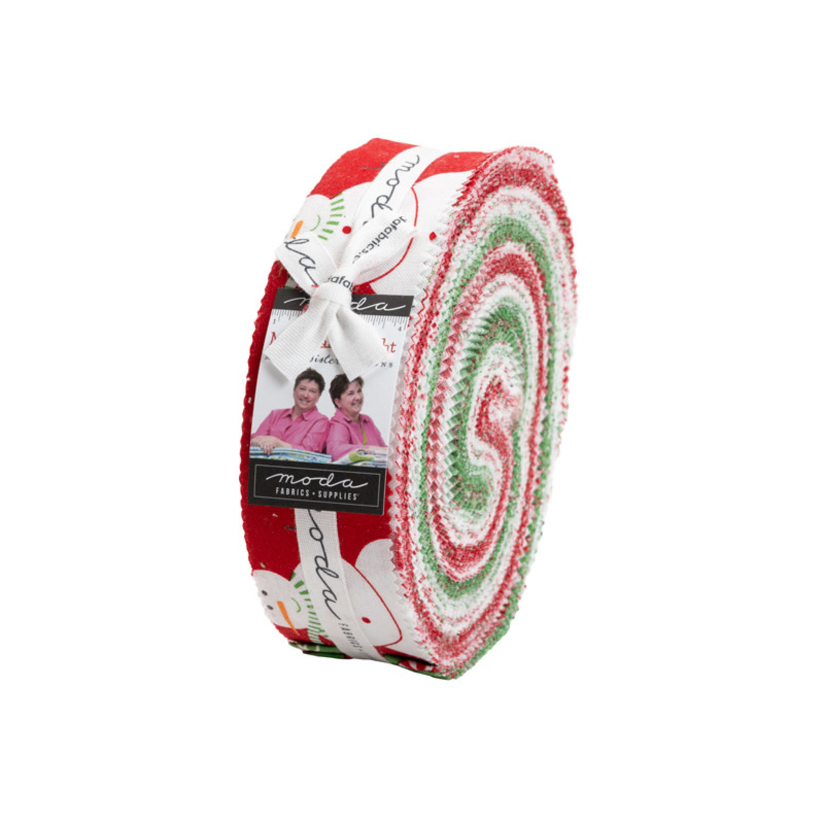 Me and My Sister Designs Merry and Bright, Honey Bun 40 pcs