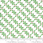 Me and My Sister Designs Merry and Bright, Merry Forest, White Green  22401 13 $0.20 per cm or $20/m