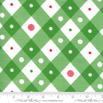 Me and My Sister Designs Merry and Bright, Merry Plaid, Ever Green  22404 12 $0.20 per cm or $20/m