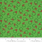 Me and My Sister Designs Merry and Bright, Merry Wreaths, Ever Green 22403 12 $0.20 per cm or $20/m