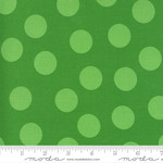Me and My Sister Designs Merry and Bright, Merry Giant Dot, Tonal Ever Green 22405 22 $0.20 per cm or $20/m