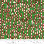 Me and My Sister Designs Merry and Bright, Merry Canes,  Ever Green 22402 12 $0.20 per cm or $20/m