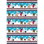 Wilmington Prints 50cm  CANADIAN CAPERS BORDER 431, $21/M
