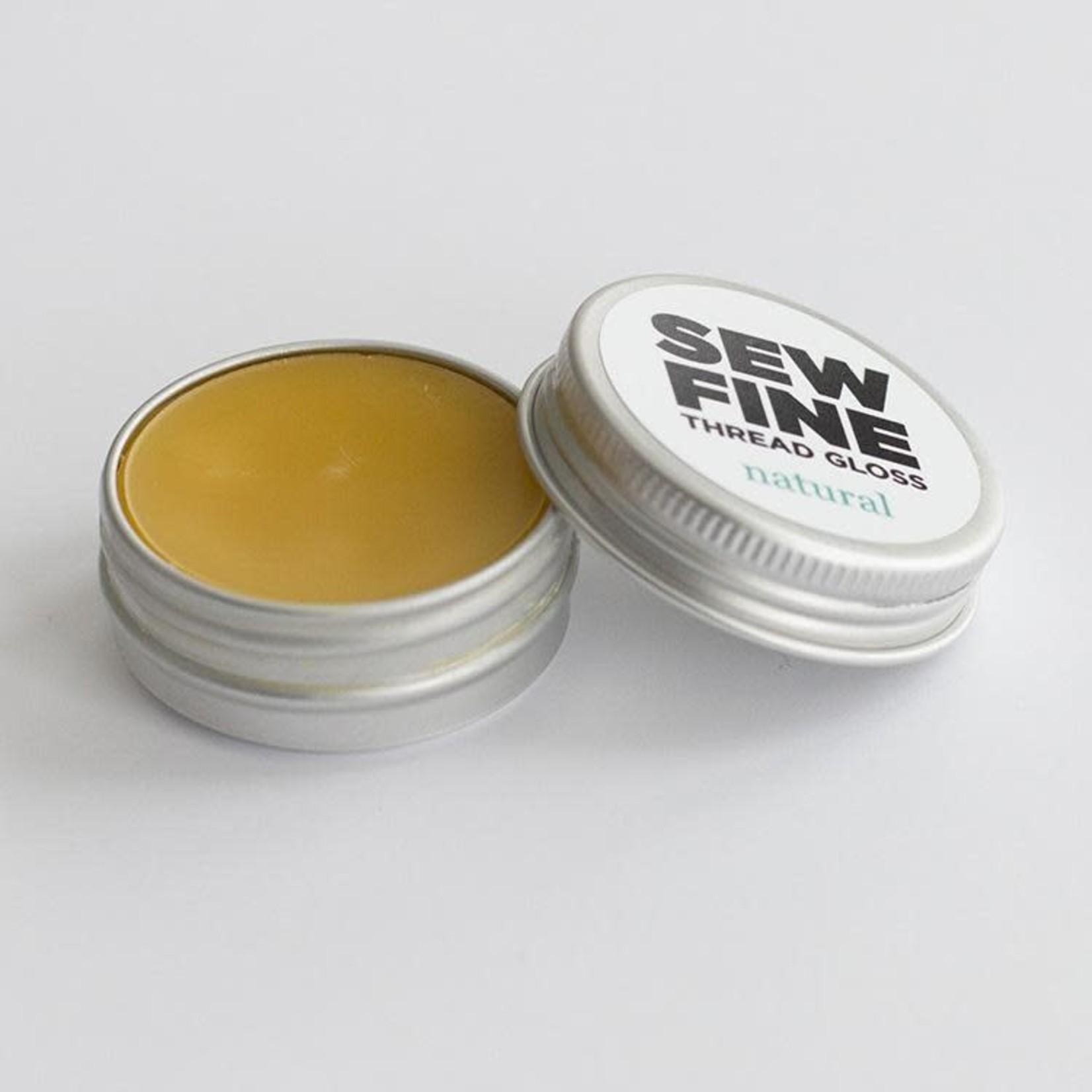Sew Fine Sew Fine Thread Gloss: Natural 0.5 oz
