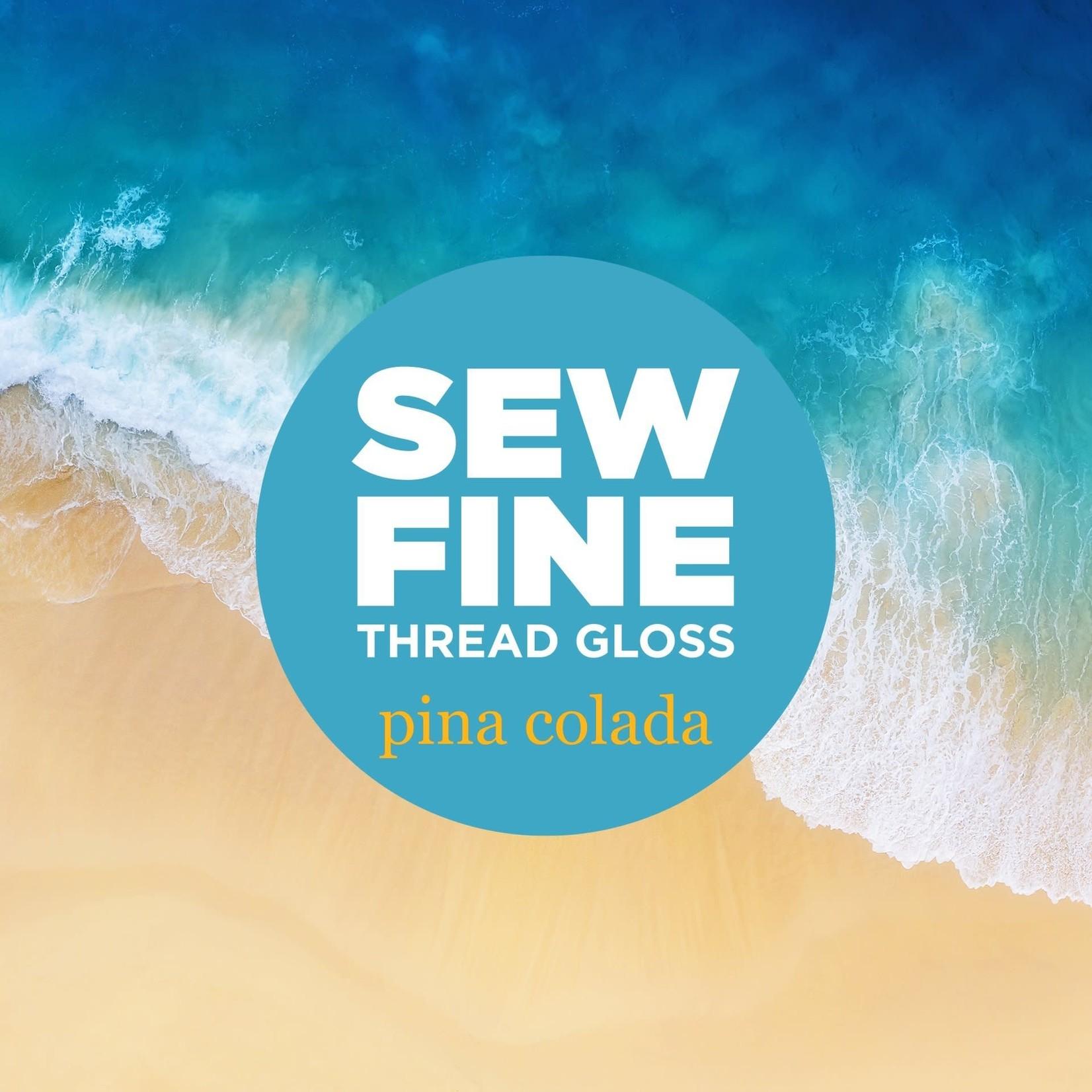 Sew Fine Sew Fine Thread Gloss: Pina Colada 0.5 oz