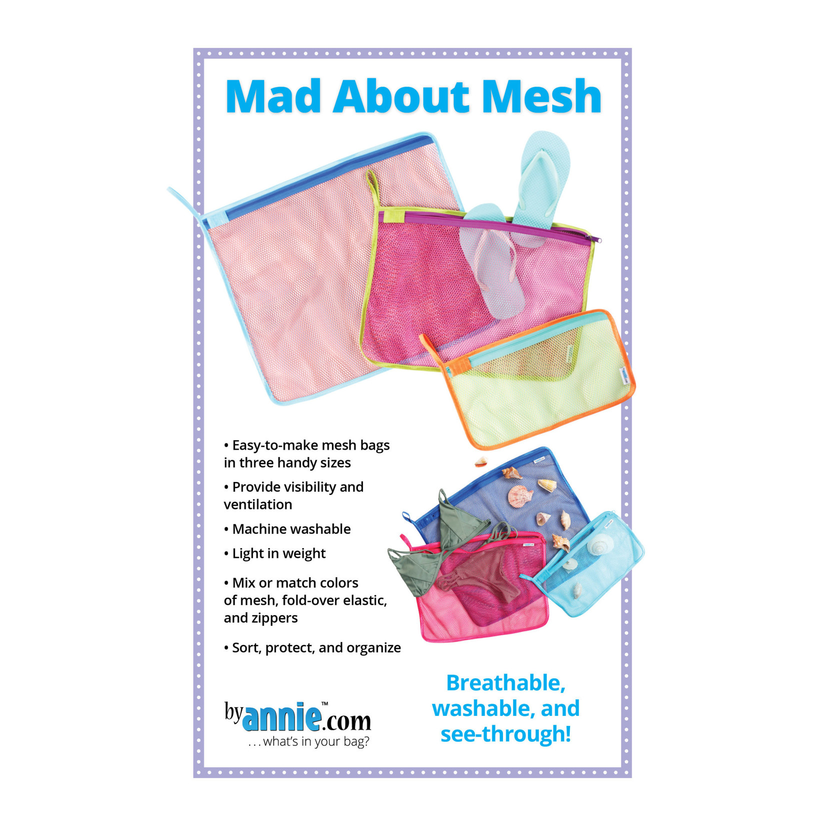 By Annie Mad About Mesh