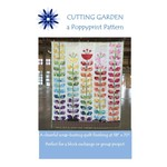 "Poppyprint Pattern Cutting Garden Quilt Pattern 58"" X 70"""