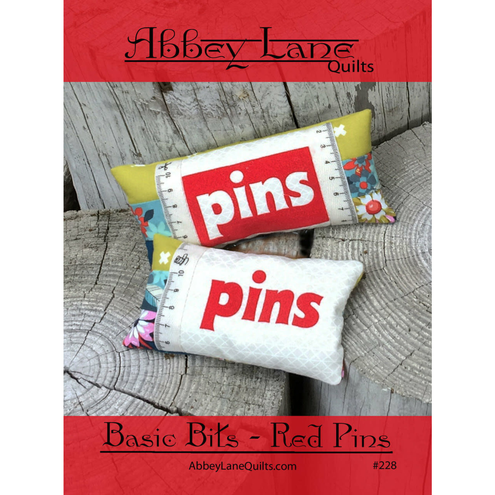 Abbey Lane Quilts Basic Bits - Red Pins