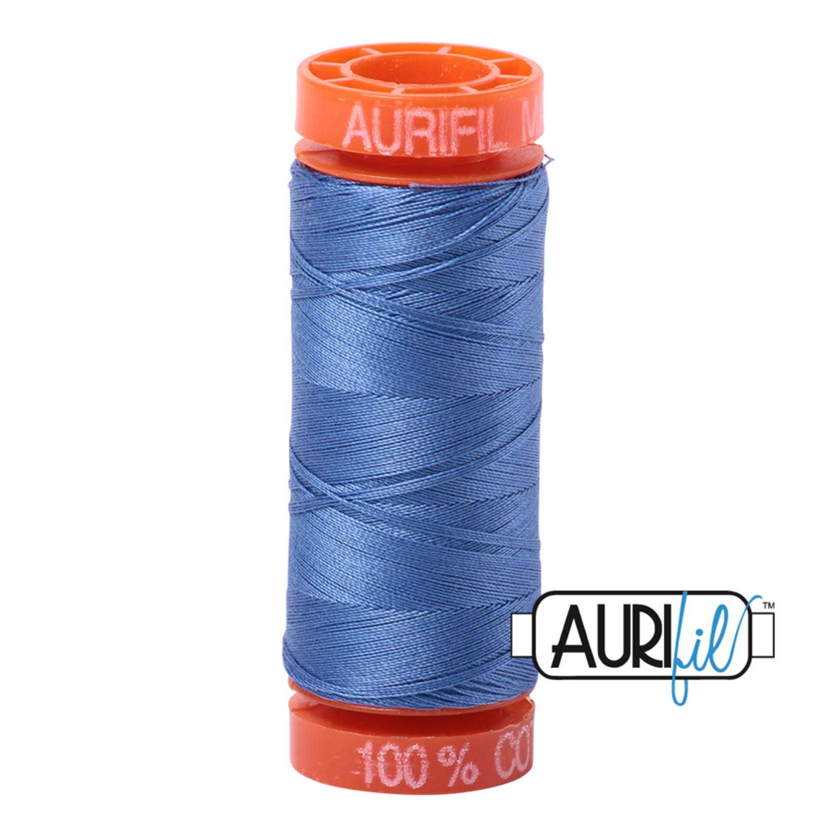 AURIFIL AURIFIL 50 WT Light Blue Violet 1128 Small Spool