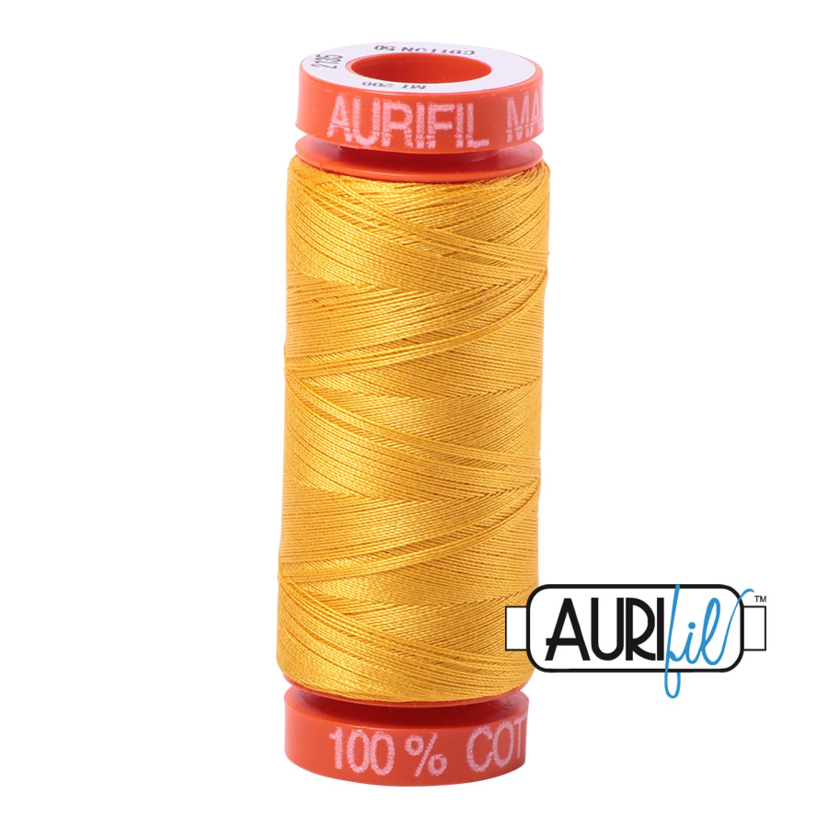 AURIFIL AURIFIL 50 WT Yellow 2135 Small Spool