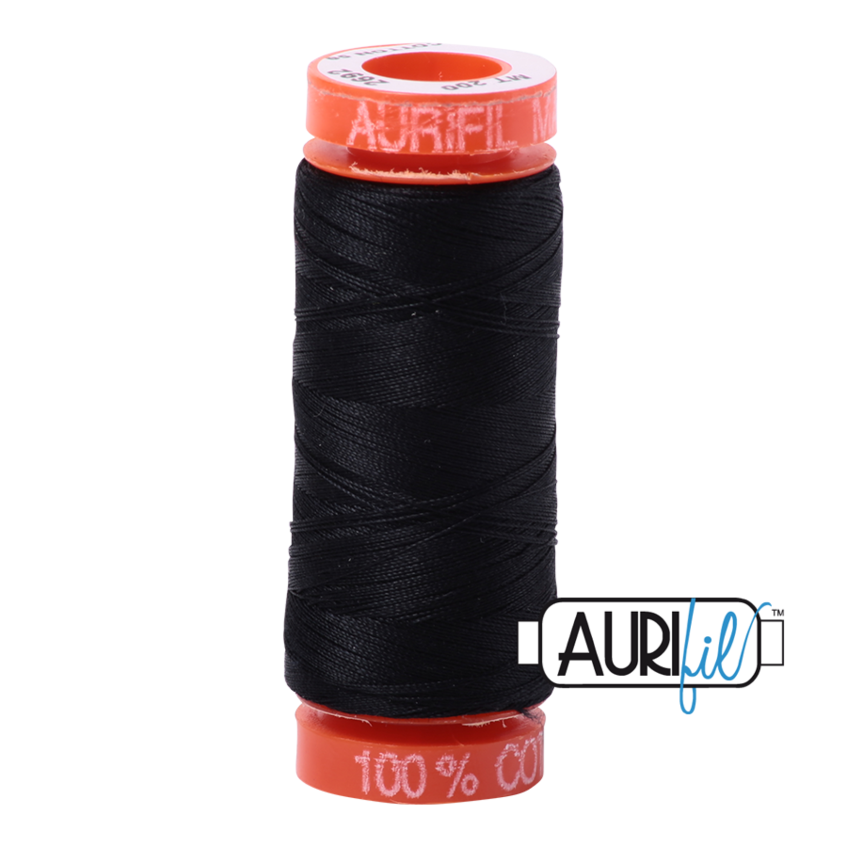 AURIFIL AURIFIL 50 WT Black 2692 Small Spool