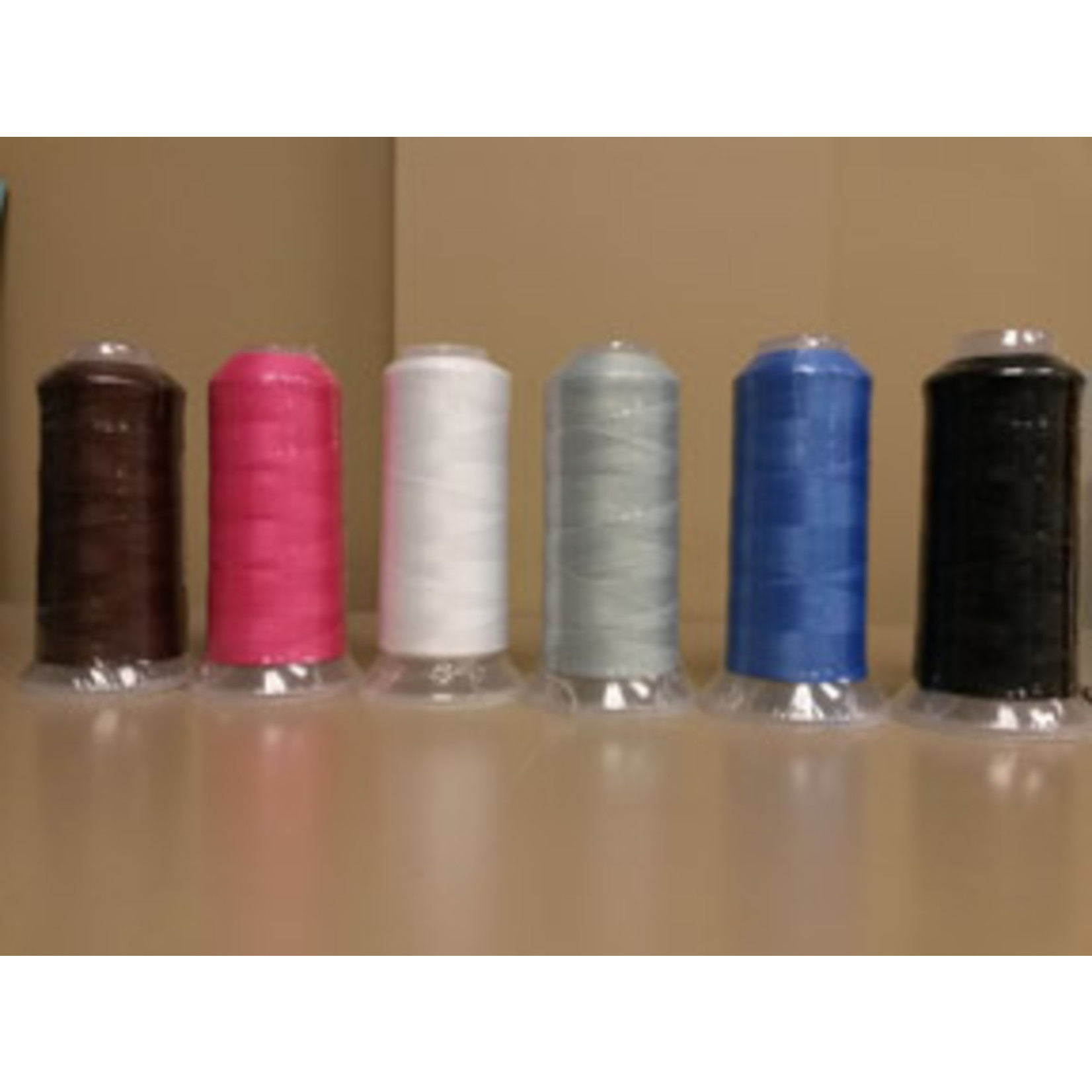 Marathon Stretch Polyester (Wooly) Thread 5,000 METRES BLACK