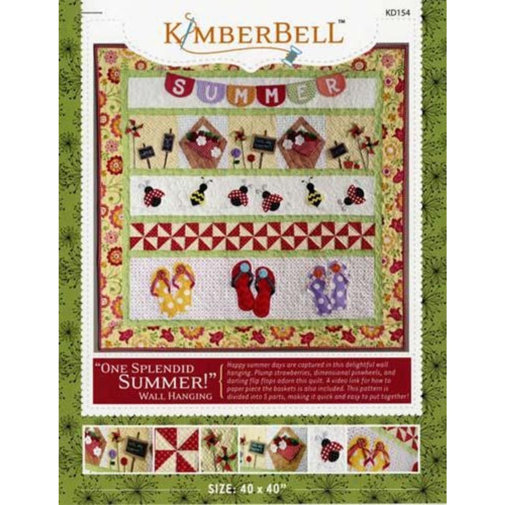 Kimberbell Designs ONE SPLENDID SUMMER by KIMBERBELL