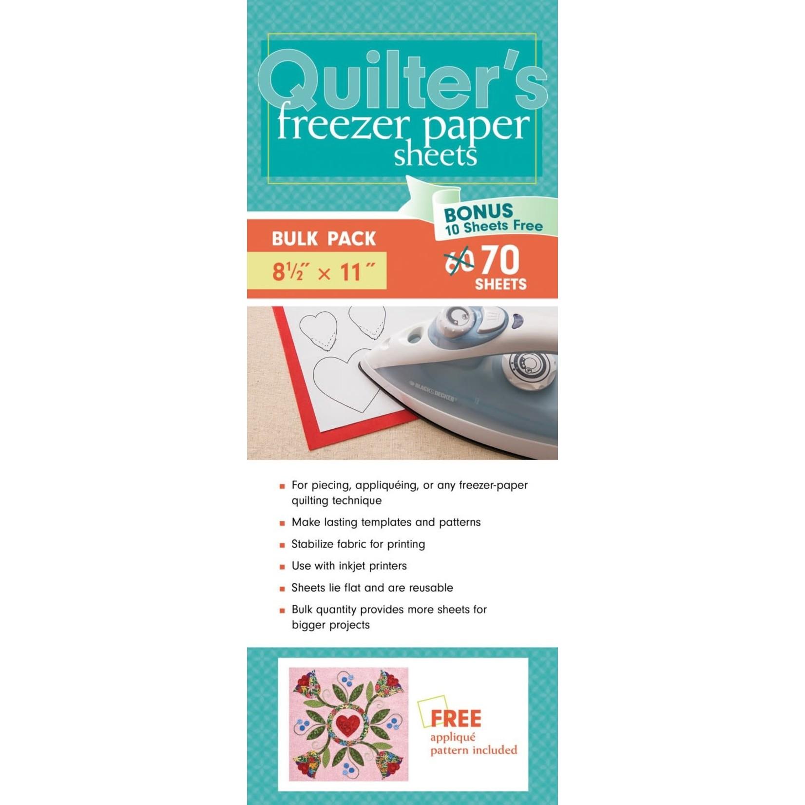 C & T Publishing Freezer Paper Sheets 70 sheets/pack