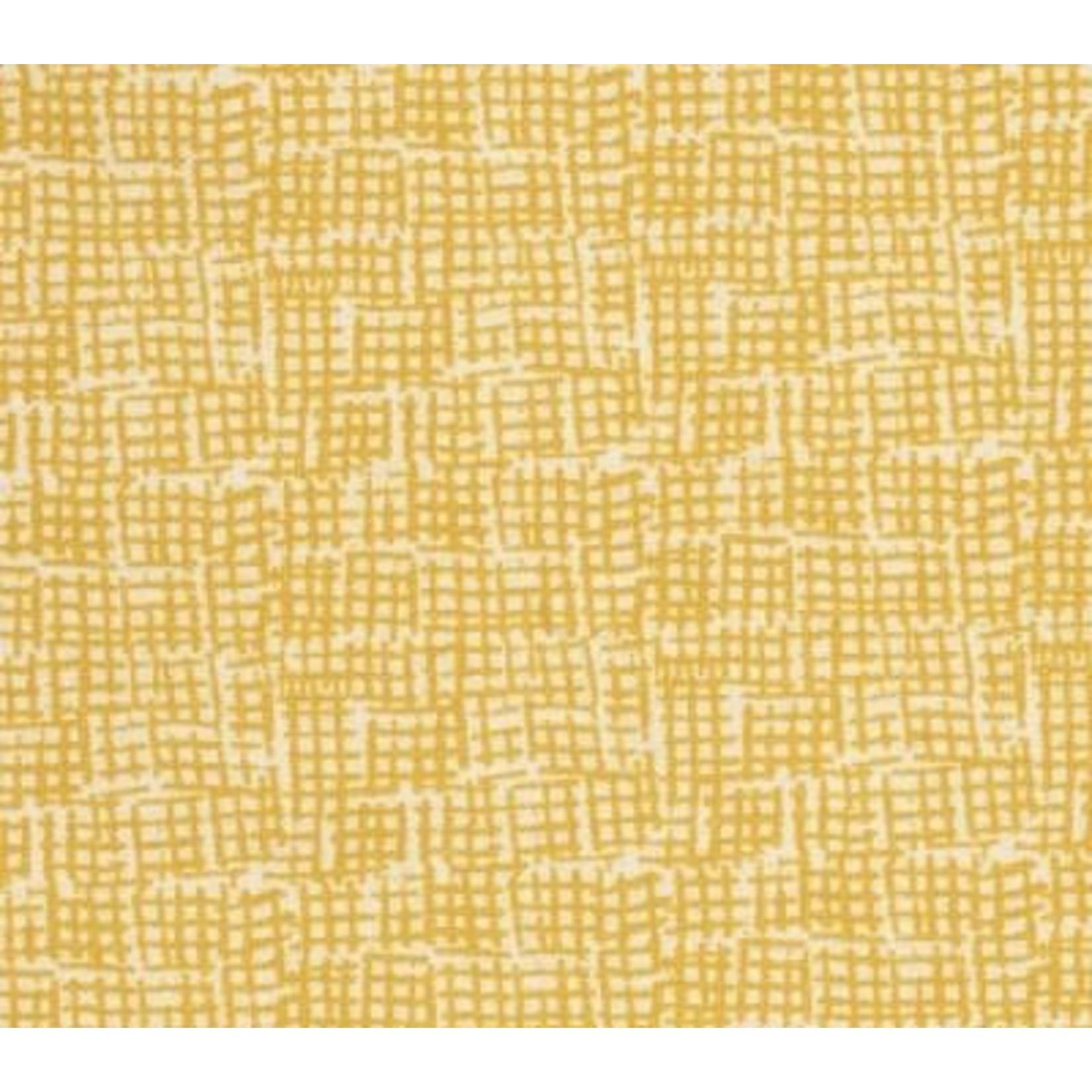 Dear Stella Dear Stella, Net, Mustard (STELLA-370-MUSTARD) $0.15 per cm or $15/m