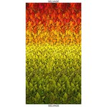 """Timeless Treasures Fall Glory, Ombre Harvest Metallic Leaves 12"""" Repeat (CM8540) $0.20 per cm or $20/m"""