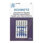 Schmetz SCHMETZ DENIM JEANS NEEDLE ASSORTED CARDED 5/PKG